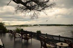 Salotto lungo lo Zambesi Fotografia Stock