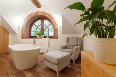 Salotto lussuoso del bagno Fotografia Stock Libera da Diritti
