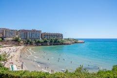 Salou Beach Royalty Free Stock Image