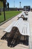 Salou benches Stock Photography