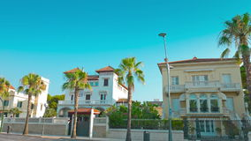 Salou, Spain, summer in Europe, typical Spanish house establishing shot. Costa Daurada in Catalonia, Spain, shot in RAW 4K stock video