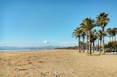 Salou strand Royaltyfri Bild