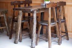 Salowa stołowa ławka Obraz Stock