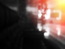 Salowy bokeh z lekkim przecieku tłem Zdjęcia Royalty Free