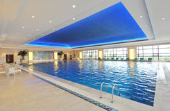 salowy luksusowy basen Fotografia Royalty Free