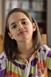 Portret Latynoska mała dziewczynka zdjęcia royalty free