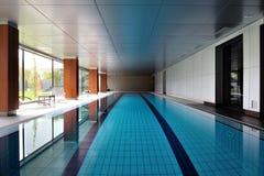 Salowy pływacki basen Zdjęcie Royalty Free
