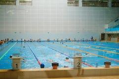 Salowy Pływacki basen Fotografia Stock
