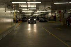 Salowy parking Zdjęcia Royalty Free