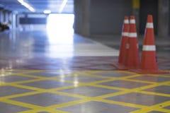 Salowy parking samochodowego teren Obraz Royalty Free