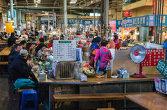 Salowy rynek, Seul, Korea Zdjęcia Stock