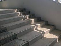 Salowy schodowy sposób w budynku Obraz Stock