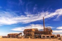 Salpeterraffinaderij Stock Foto