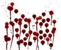 Salpica de sangre fotografía de archivo libre de regalías