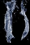 Salpica del agua Imagen de archivo libre de regalías