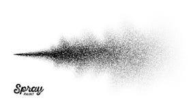 Salpicadura de la pintura de espray ilustración del vector