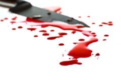 Salpicadura de la sangre Fotos de archivo