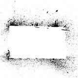 Salpicadura y goteo de la pintura de Grunge Imagen de archivo