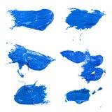 Salpicaduras de la tinta Imagen de archivo libre de regalías