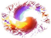 Salpicaduras frescas del cepillo de pintura libre illustration