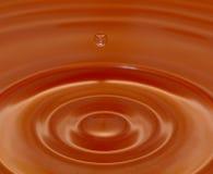 Agua-descenso Foto de archivo