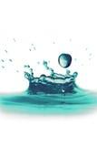 Salpicar el agua Foto de archivo libre de regalías