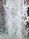 Salpicar el agua Fotos de archivo