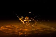Salpicar el agua Imagen de archivo libre de regalías
