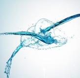 Salpicar el agua Fotos de archivo libres de regalías