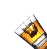 Salpicar la bebida fresca Fotos de archivo libres de regalías