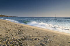 Salpicar ondas Fotos de archivo