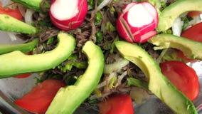 Salpicon Mexicaans Voedsel stock footage