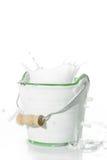 Salpique la leche Imagen de archivo libre de regalías