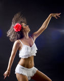 salsa χορού Στοκ φωτογραφία με δικαίωμα ελεύθερης χρήσης