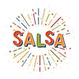 salsa illustration de vecteur