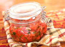 Salsa Royalty Free Stock Photography