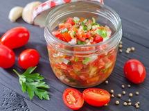 Salsa Royalty Free Stock Image