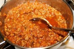 salsa Foto de archivo