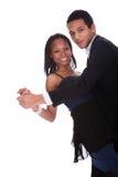 Salsa africain de danse de couples Image stock