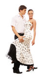 Salsa dancers Stock Photography
