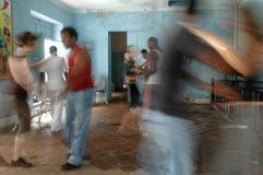 Salsa dancers Havanna Royalty Free Stock Images