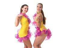 Salsa dancers Stock Photo