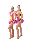Salsa dancing Royalty Free Stock Photo