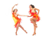 Salsa dancing Royalty Free Stock Images