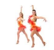 Salsa dancing Royalty Free Stock Photography