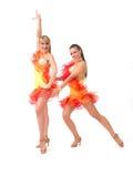 Salsa dancing Stock Image