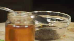 Salsa de Bblueberry almacen de video