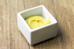Salsa de mostaza Imagen de archivo libre de regalías