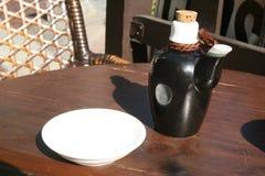 Salsa de soja Fotos de archivo libres de regalías
