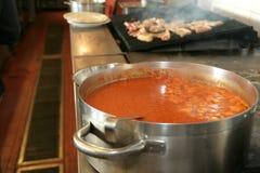 Salsa de tomate Fotografía de archivo libre de regalías
